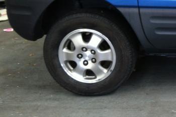 Mag Wheel & Tyre Shine Before